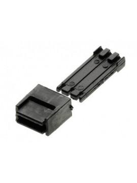 lunghezza 115 mm Binario G1//2 con sganciavagoni elettromagnetico ROCO 42419