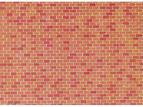 170608 Faller HO Muro in mattoni  mm.250 x 125