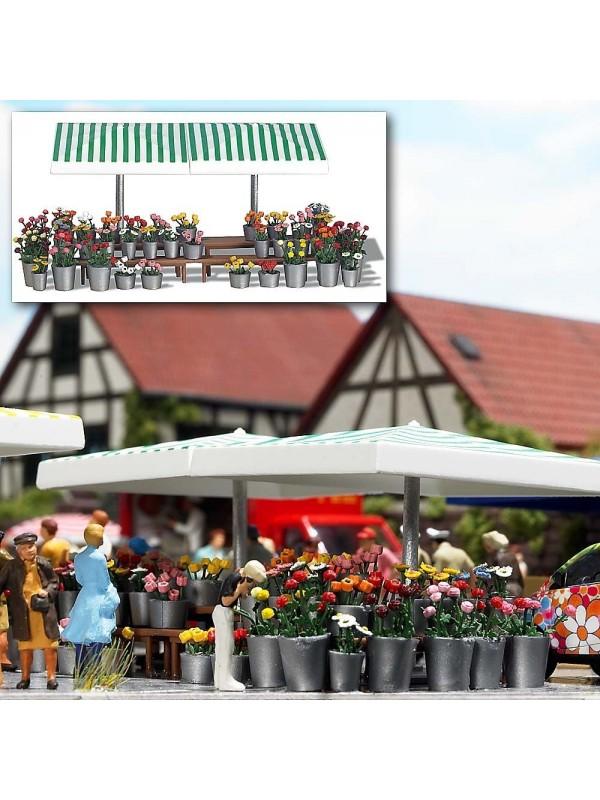 VOLLMER 45141 h0 Set di decorazione mercato settimanale
